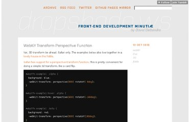 http://dropshado.ws/post/1301087289/webkit-transform-perspective-function