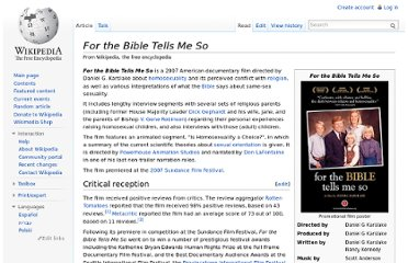 http://en.wikipedia.org/wiki/For_the_Bible_Tells_Me_So