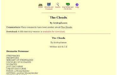 http://classics.mit.edu/Aristophanes/clouds.html