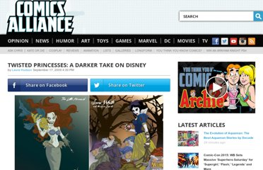 http://www.comicsalliance.com/2009/09/17/twisted-princesses-a-darker-take-on-disney/