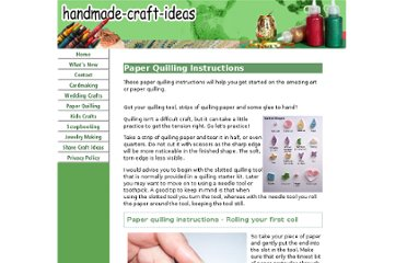http://www.handmade-craft-ideas.com/paper-quilling-instructions.html