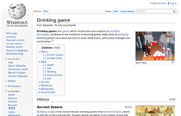 http://en.wikipedia.org/wiki/Drinking_game