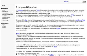 http://opennab.sourceforge.net/index.php?n=Fr.About