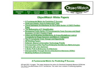 http://www.objectwatch.com/white_papers.htm