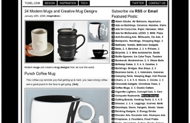 http://www.toxel.com/inspiration/2009/01/20/24-modern-mugs-and-creative-mug-designs/