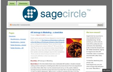 http://sagecircle.wordpress.com/2009/03/10/ar-belongs-in-marketing-a-dead-idea/