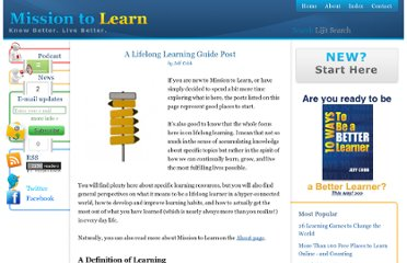 http://www.missiontolearn.com/2009/06/lifelong-learning-guide-post/