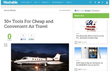 http://mashable.com/2008/06/17/tools-for-cheap-air-travel/#more-28076