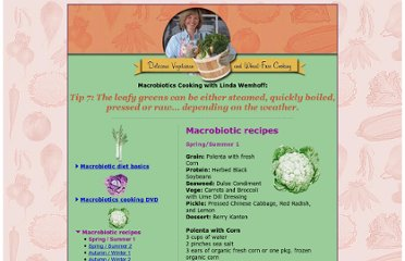 http://www.macrobioticmeals.com/macrobiotic_recipes.html