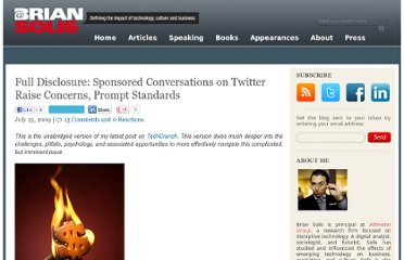 http://www.briansolis.com/2009/07/full-disclosure-sponsored-conversations-on-twitter-raise-concerns-prompt-standards/#