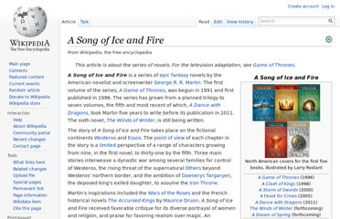 http://en.wikipedia.org/wiki/A_Song_of_Ice_and_Fire
