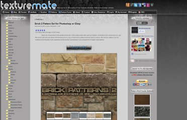 http://www.texturemate.com/content/brick-2-pattern-set-photoshop-or-gimp