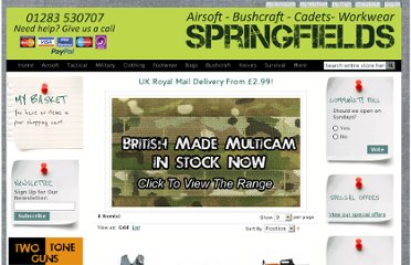 http://www.springfields.co.uk/bush-craft-field-kit/rucksacks-holdalls/