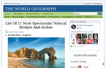 http://www.theworldgeography.com/2010/11/list-of-11-most-spectacular-natural.html