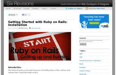 http://sixrevisions.com/web-development/getting-started-with-ruby-on-rails-installation/