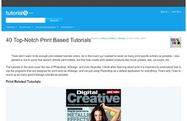 http://www.tutorial9.net/downloads/40-top-notch-print-based-tutorials/