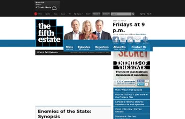 http://www.cbc.ca/fifth/2010-2011/enemiesofthestate/