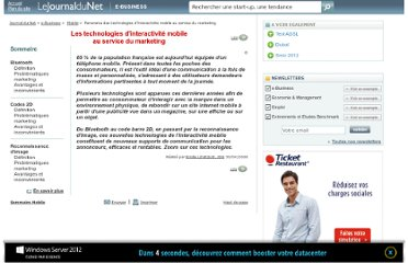 http://www.journaldunet.com/ebusiness/mobile/dossier/080430-technologies-marketing-mobile-interactif/index.shtml