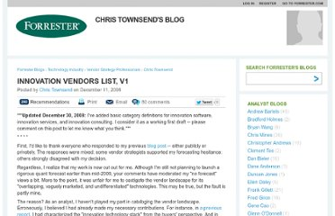 http://blogs.forrester.com/chris_townsend/08-12-11-innovation_vendors_list_v1