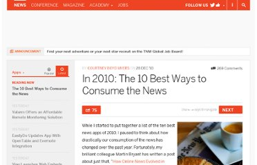 http://thenextweb.com/apps/2010/12/28/in-2010-the-10-best-ways-to-consume-the-news/