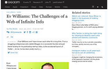 http://gigaom.com/2010/12/29/evan-williams-on-web-of-infinite-information/