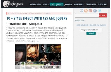 http://www.freshdesignweb.com/style-effect-with-css-and-jquery.html