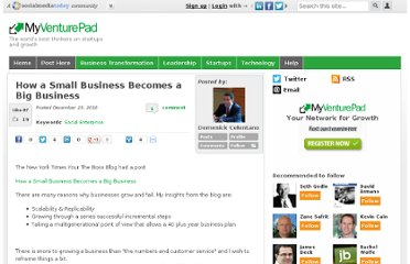 http://myventurepad.com/domenickcelentano/61057/how-small-business-becomes-big-business