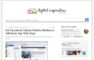 http://www.labnol.org/software/browsers/run-facebook-chat-messenger-firefox-sidebar/3050/