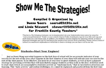 http://franklincountyschools.k12tn.net/Show%20Me%20the%20Strategies.htm