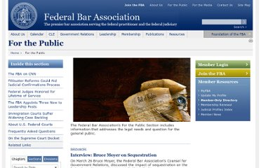 http://www.fedbar.org/Public-Messaging.aspx