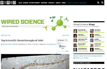 http://www.wired.com/wiredscience/2010/12/top-scientific-discoveries/