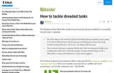 http://www.lifehacker.com/software/procrastination/how-to-tackle-dreaded-tasks-255820.php