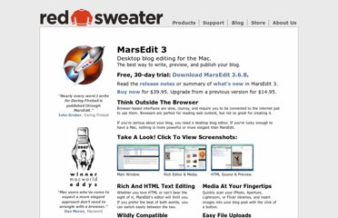http://www.red-sweater.com/marsedit/