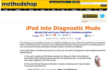 http://www.methodshop.com/gadgets/ipodsupport/diagnosticmode/index.shtml
