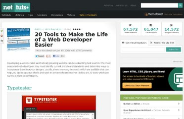 http://net.tutsplus.com/articles/web-roundups/20-tools-to-make-the-life-of-a-web-developer-easier/
