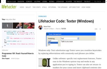 http://lifehacker.com/238306/lifehacker-code-texter-windows