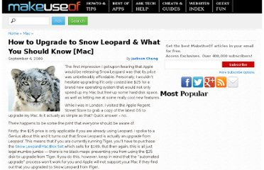 http://www.makeuseof.com/tag/upgrading-to-snow-leopard-the-things-you-need-to-know-mac/