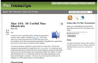 http://www.mactricksandtips.com/2008/10/mac-101-56-useful-mac-shortcuts.html
