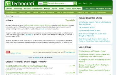 http://technorati.com/tag/reviews