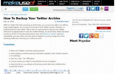 http://www.makeuseof.com/tag/how-to-backup-your-twitter-archive/