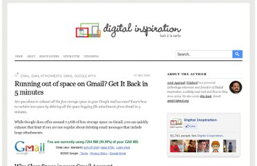 http://www.labnol.org/internet/email/reclaim-lost-space-in-gmail-account/5747/