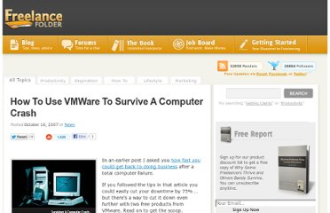 http://freelancefolder.com/how-to-use-vmware-to-survive-a-computer-crash/