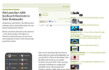 http://lifehacker.com/5119906/sitelauncher-adds-keyboard-shortcuts-to-your-bookmarks