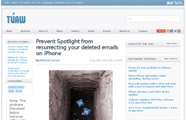 http://www.tuaw.com/2009/08/18/prevent-spotlight-from-resurrecting-your-deleted-emails/
