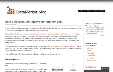 http://blog.datamarket.com/2010/12/30/data-and-visualization-predictions-for-2011/