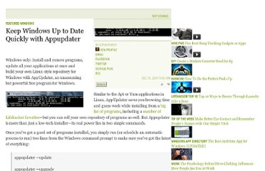 http://lifehacker.com/335478/keep-windows-up-to-date-quickly-with-appupdater