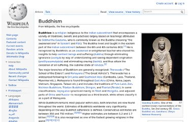 http://en.wikipedia.org/wiki/Buddhism#Three_Marks_of_Existence