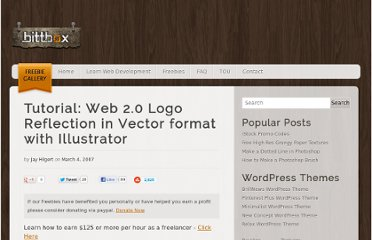 http://www.bittbox.com/illustrator/tutorial-web-20-logo-reflection-in-vector-format-with-illustrator