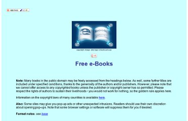 http://e-book.com.au/freebooks.htm