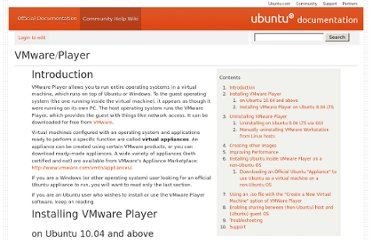https://help.ubuntu.com/community/VMware/Player